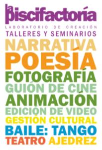 Cartel de promoción de los talleres