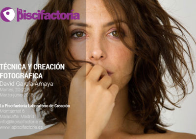 Técnica y creación fotográfica, con David García