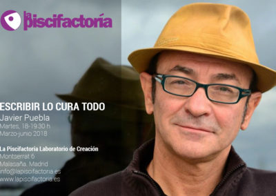 Escribir lo cura todo, con Javier Puebla
