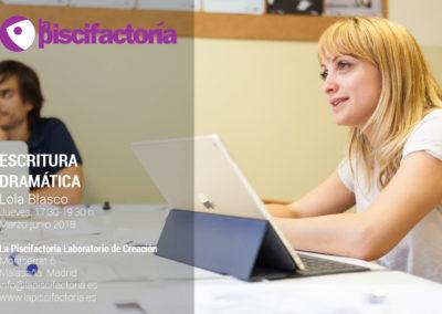 Escritura dramática, con Lola Blasco