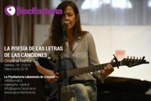 La poesía de las letras de las canciones, con Cristina Narea