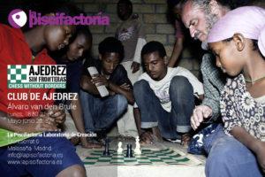 Club de ajedrez, con Álvaro van den Brule