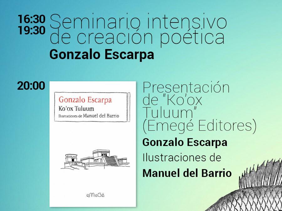 Ciclo de poesía singular en la Casa del Libro