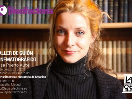 Taller de guión cinematográfico, con Elisa Puerto
