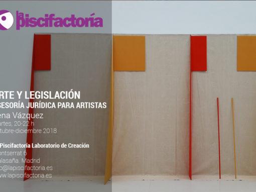 Arte y legislación. Asesoría jurídica para artistas, con Lena Vázquez