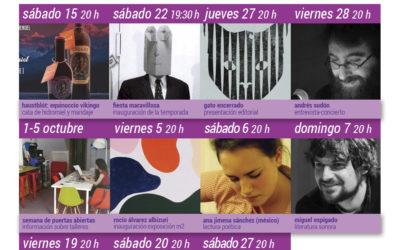 Teatro, poesía, música y arte en la nueva temporada de La Piscifactoría