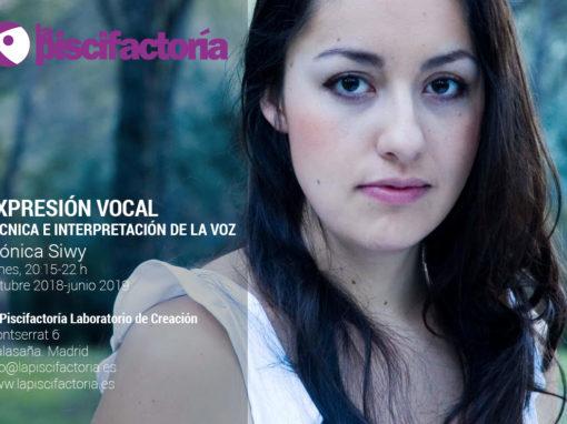 Expresión vocal. Técnica e interpretación de la voz