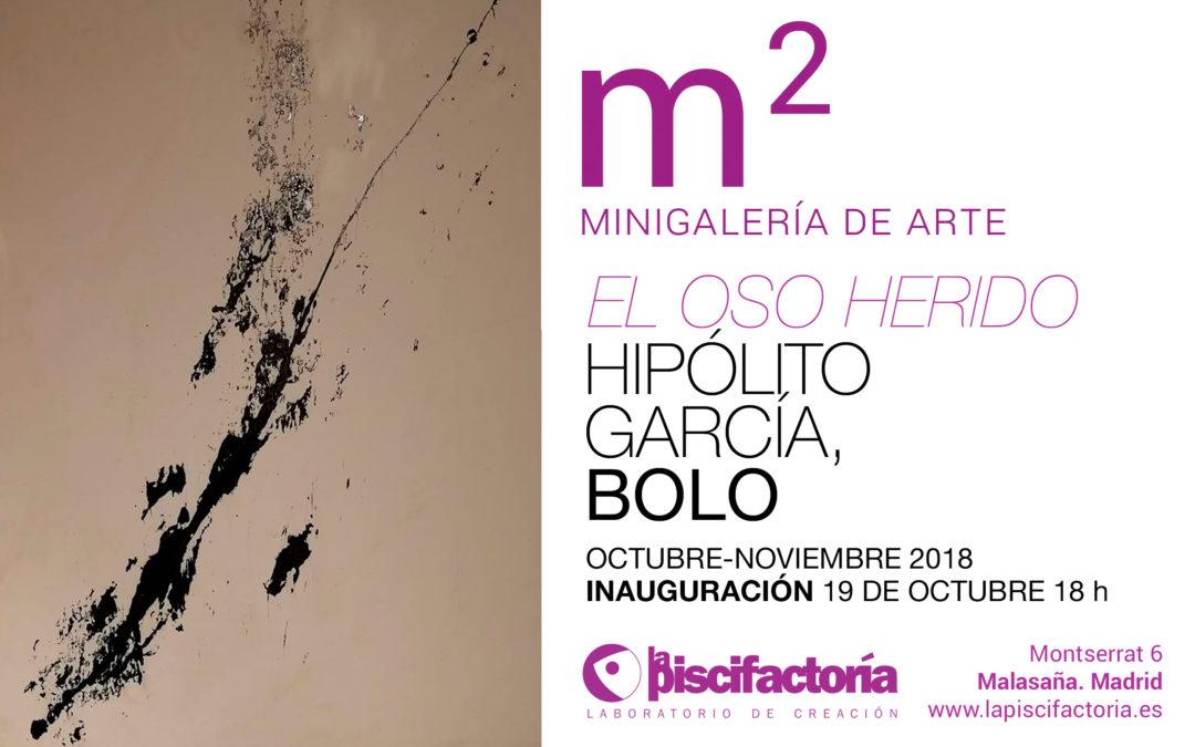 """Inauguración de la exposición """"El oso herido"""", de Hipólito García 'Bolo'"""
