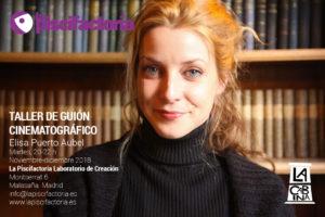 Taller de guión de cine, con Elisa Puerto