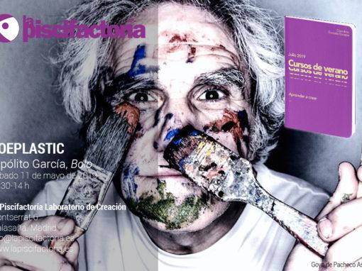 Poeplastic, con Hipólito García 'Bolo' (verano)