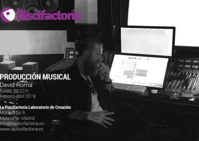 Producción musical, con David Roma