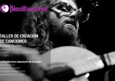 Taller de creación de canciones, con Andrés Sudón