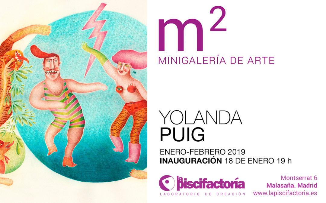 Inauguración de la exposición de Yolanda Puig