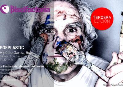 Poeplastic, con Hipólito García 'Bolo'