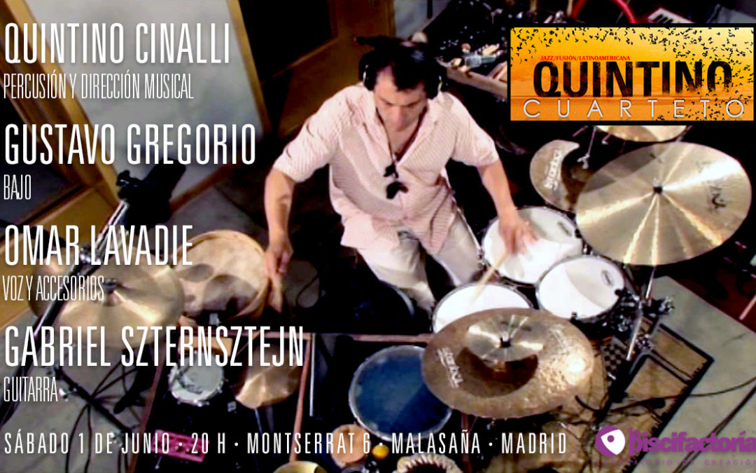 Quintino Cuarteto en concierto