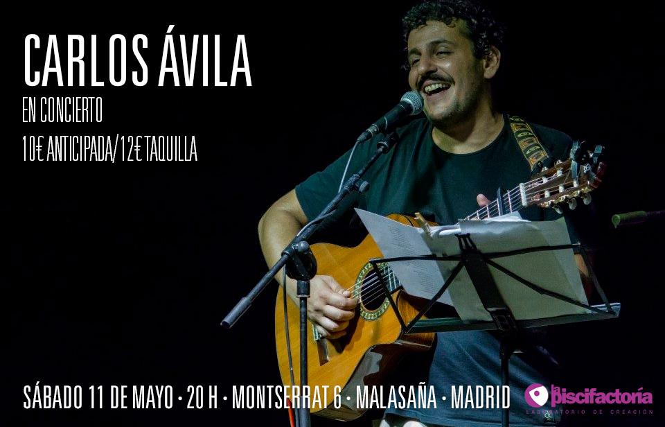 Carlos Ávila en concierto