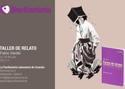 Taller de relato breve, con Pablo Medel (verano)