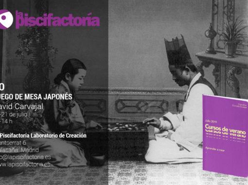 Taller de go, juego de mesa japonés, con David Carvajal