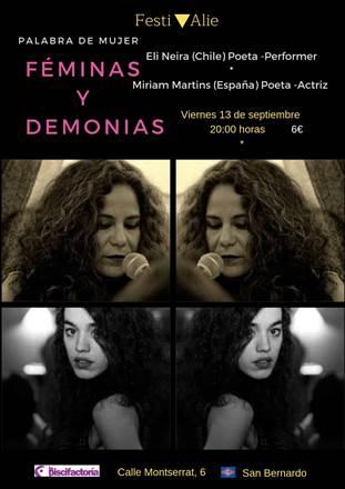 Festivalie presenta: Miriam Martins y Eli Neira