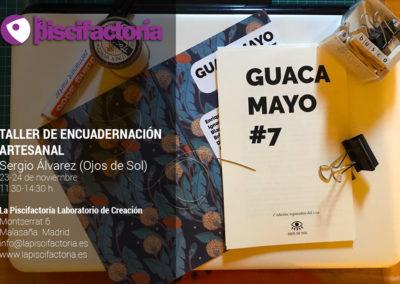 Taller de encuadernación artesanal, con Sergio Álvarez (Ojos de Sol)