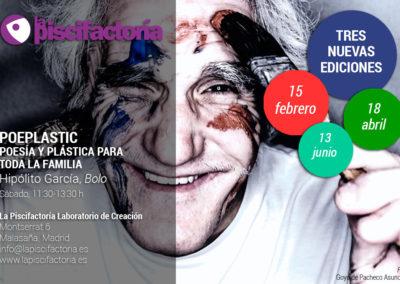 Poeplastic 2020, con Hipólito García 'Bolo'