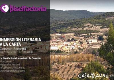 Inmersión literaria a la carta con Gonzalo Escarpa