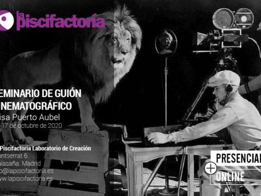 Seminario intensivo de guión cinematográfico, con Elisa Puerto Aubel