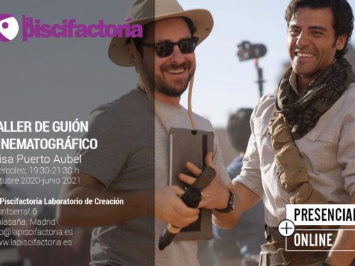 Taller de guión cinematográfico, con Elisa Puerto Aubel