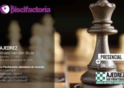 Curso de ajedrez, con Álvaro van den Brule
