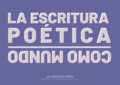 La escritura poética como mundo: 14 cursos de poesía actual
